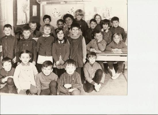 classe MMe Crépin 1968