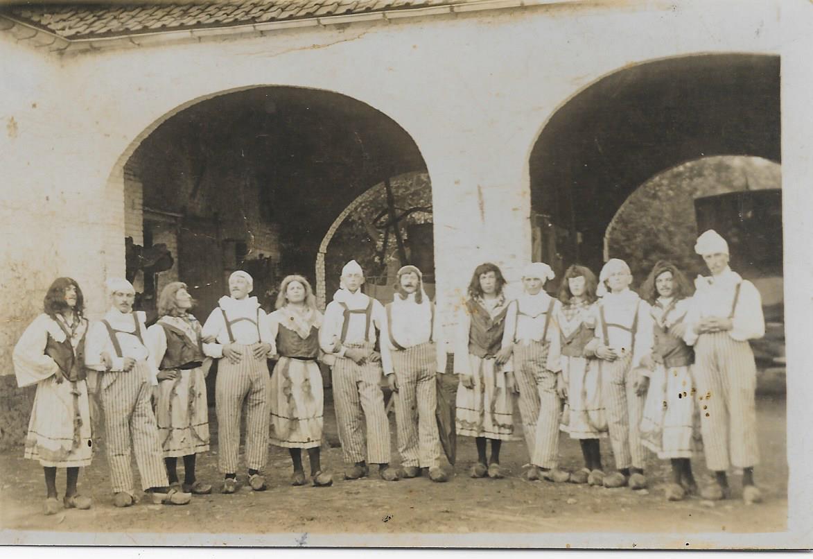 Les gymnastes 1912